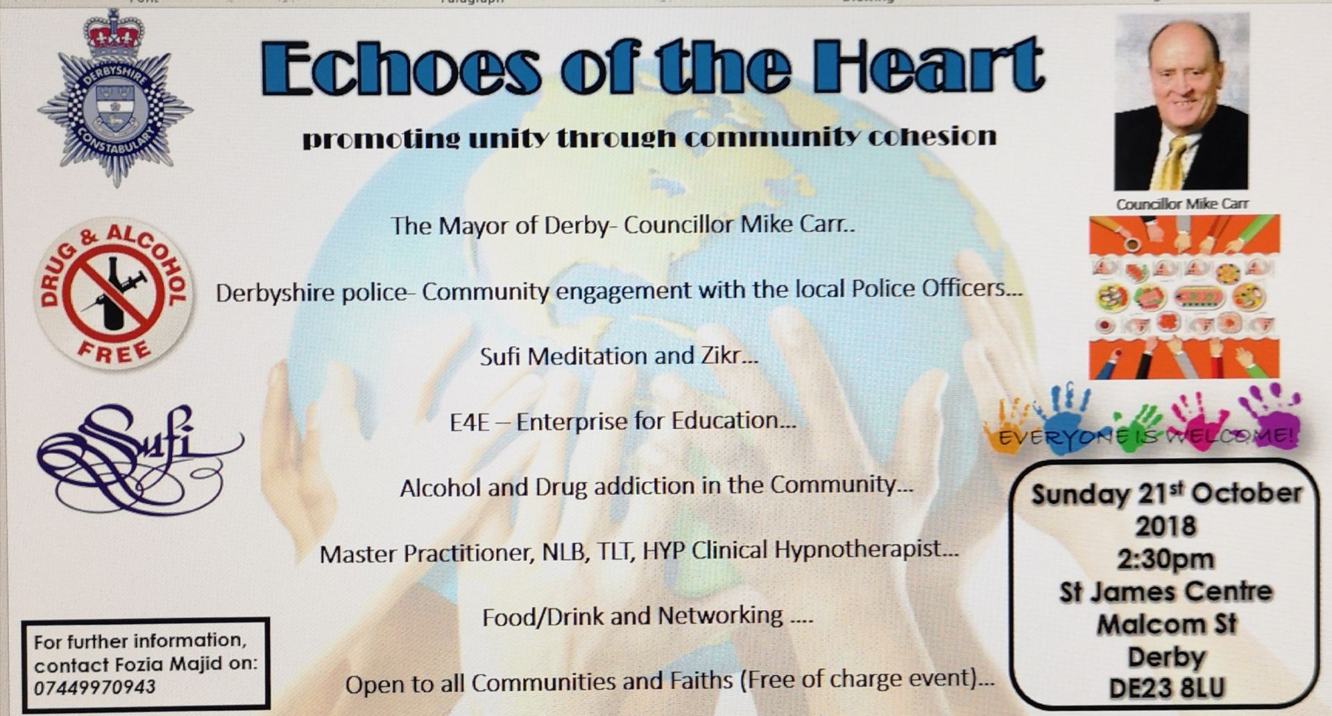 Echoes of the Heart flyer