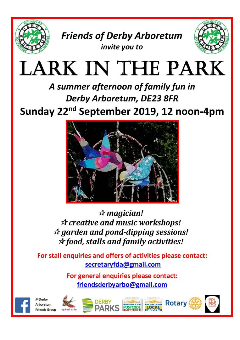 Lark in the Park poster