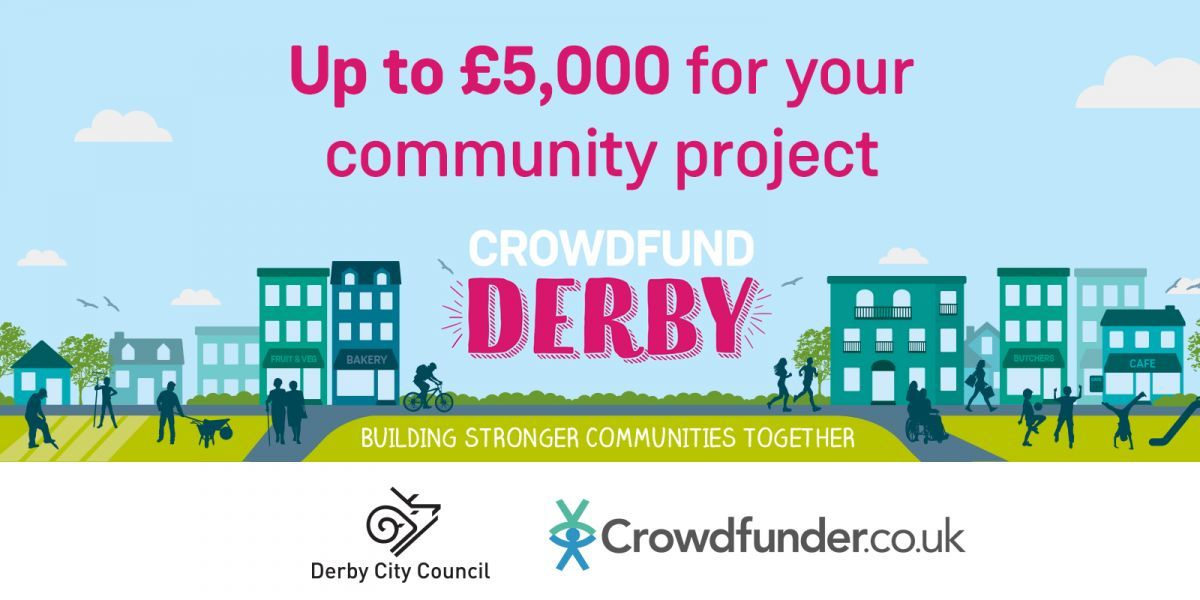 Crowdfund Derby poster