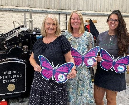 Safe and Sound Derby - Butterfly World Record Attempt