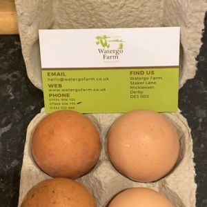 Donations of eggs from Watergo Farm