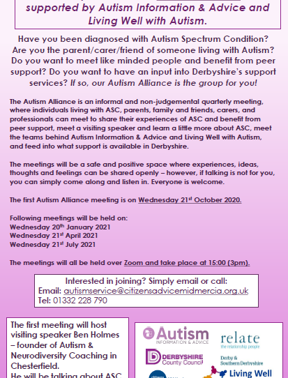 Derbyshire's Autism Alliance