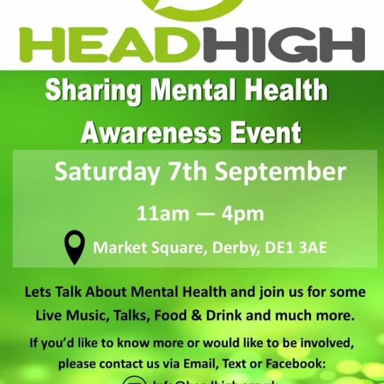 Head High Mental Health Awareness Event