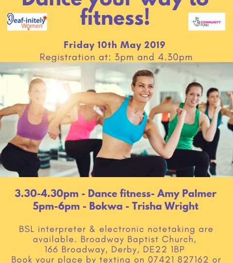Deafinitiely Women - Dance your way to fitness