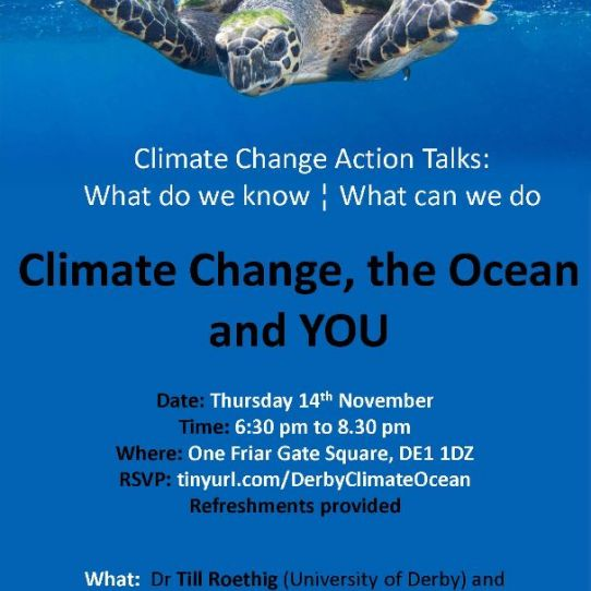 University of Derby Climate Change Event