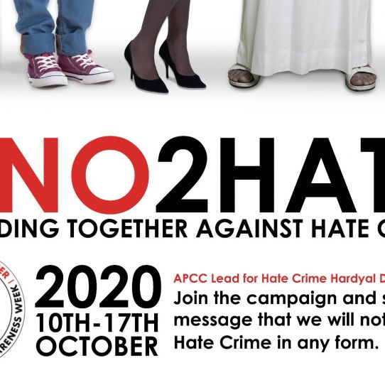Get involved in Hate Crime Awareness Week 2020