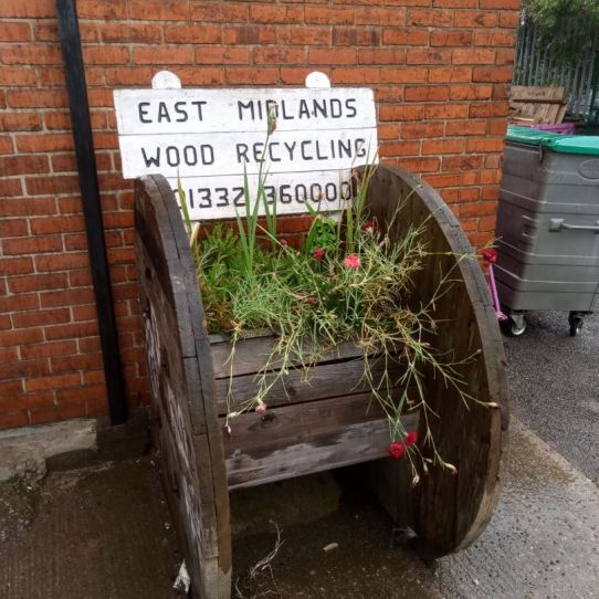 Wood Recycling in the East Midlands