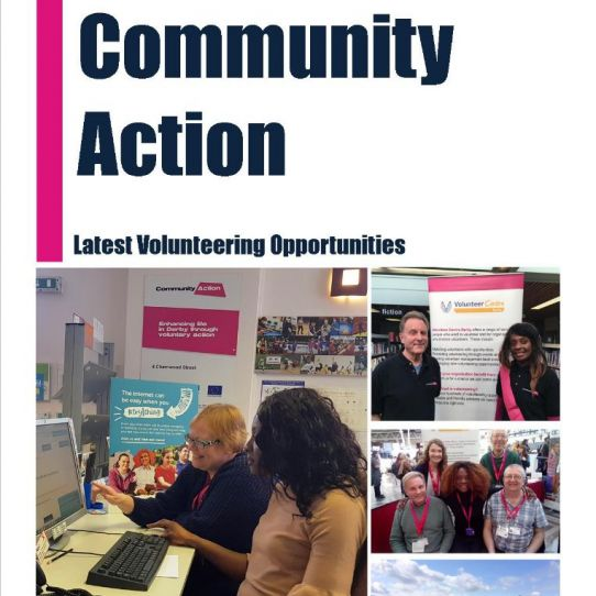 Latest Volunteering Opportunities Booklet
