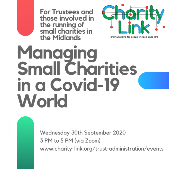 Managing Small Charities in a Covid-19 World