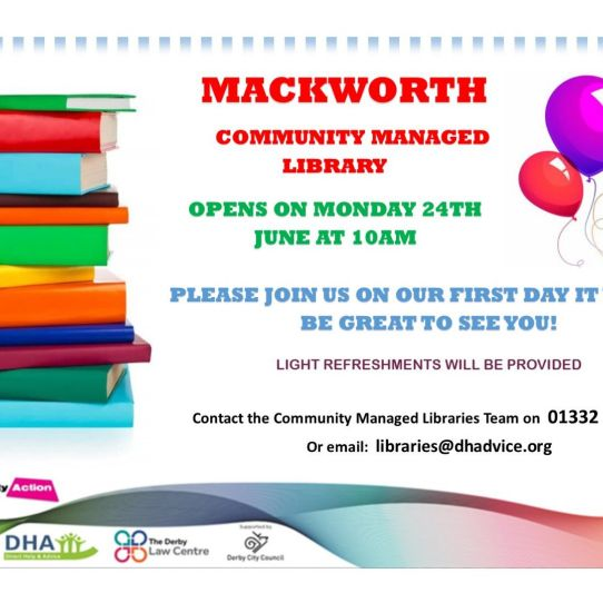 Mackworth Community Managed Library Launch