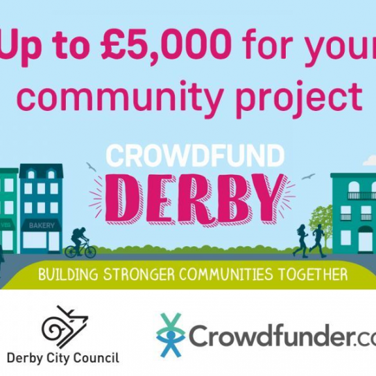 Crowdfund Derby - up to 50% match-funding for a limited time for eligible projects!
