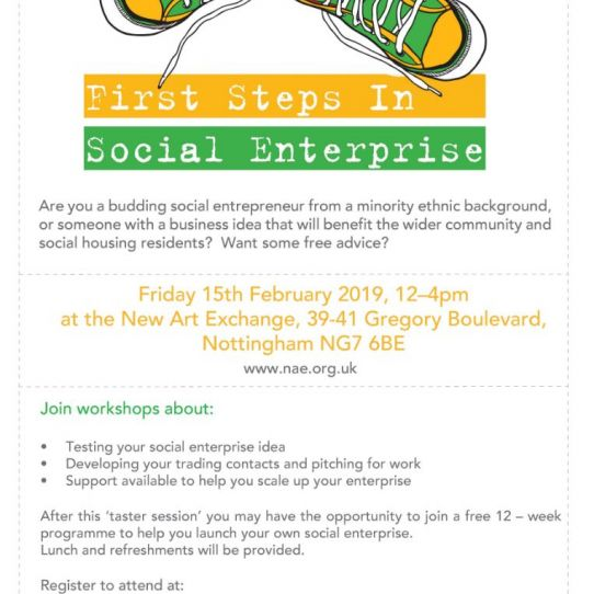 First Steps in Social Enterprise Event
