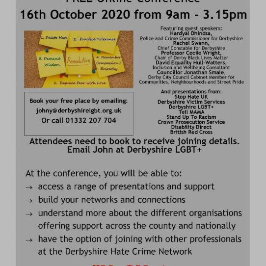 National Hate Crime Awareness Week Conference