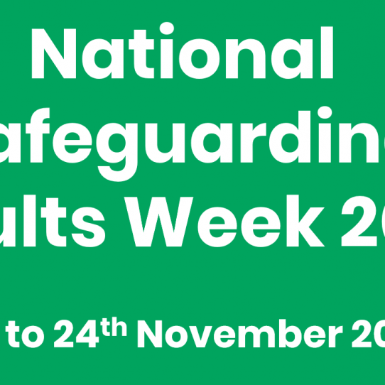 Promote your organisation at Safeguarding Adults Week event